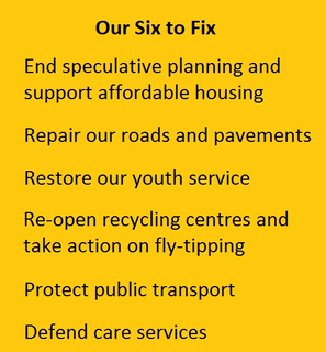 Our six to fix